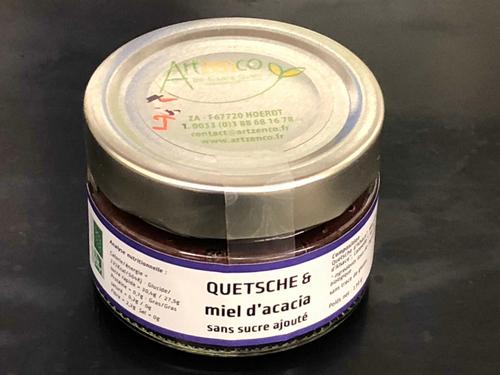 Artzenco : Confiture Quetsche au miel d'acacia bio