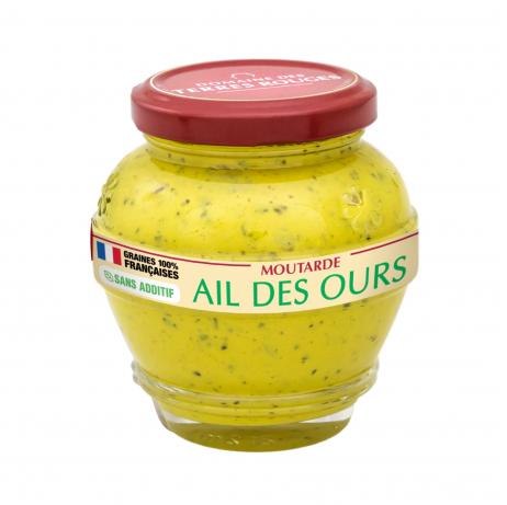 Moutarte à l'Ail des Ours 100% graines françaises sans additif